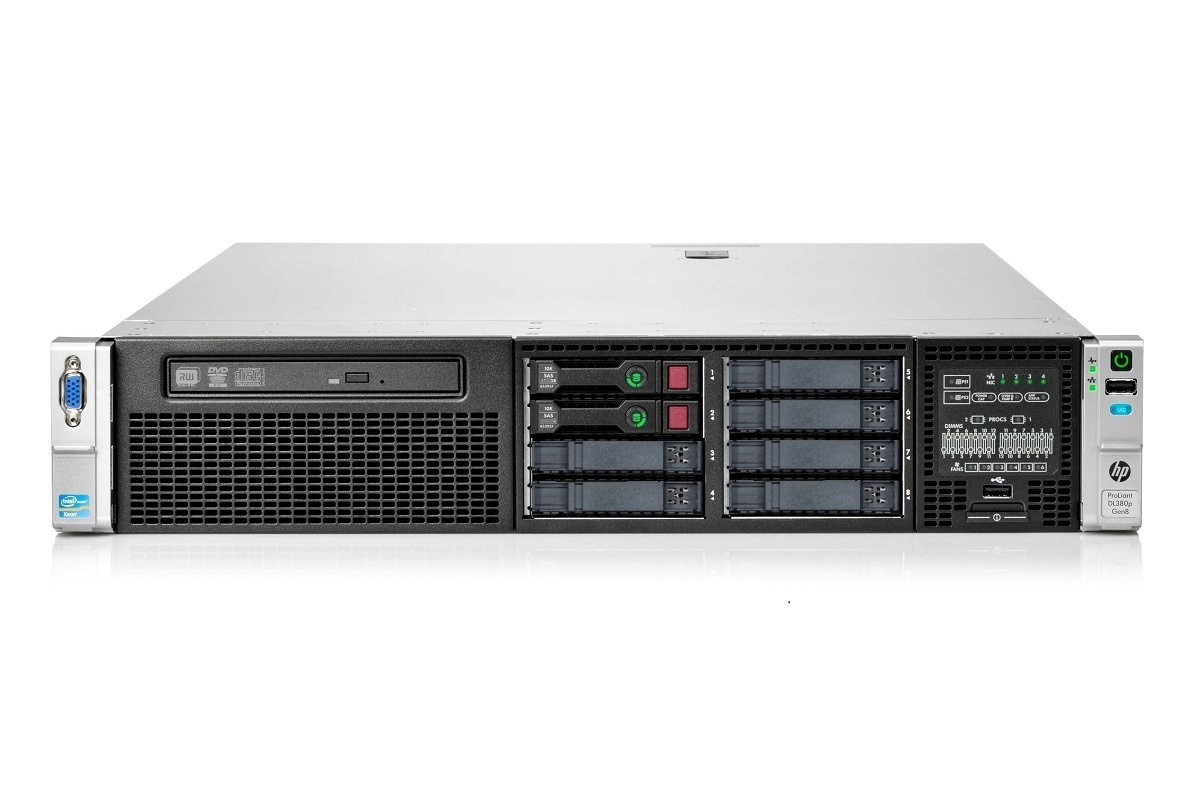 HP ProLiant DL380p Gen8 2x Octa XEON 128GB