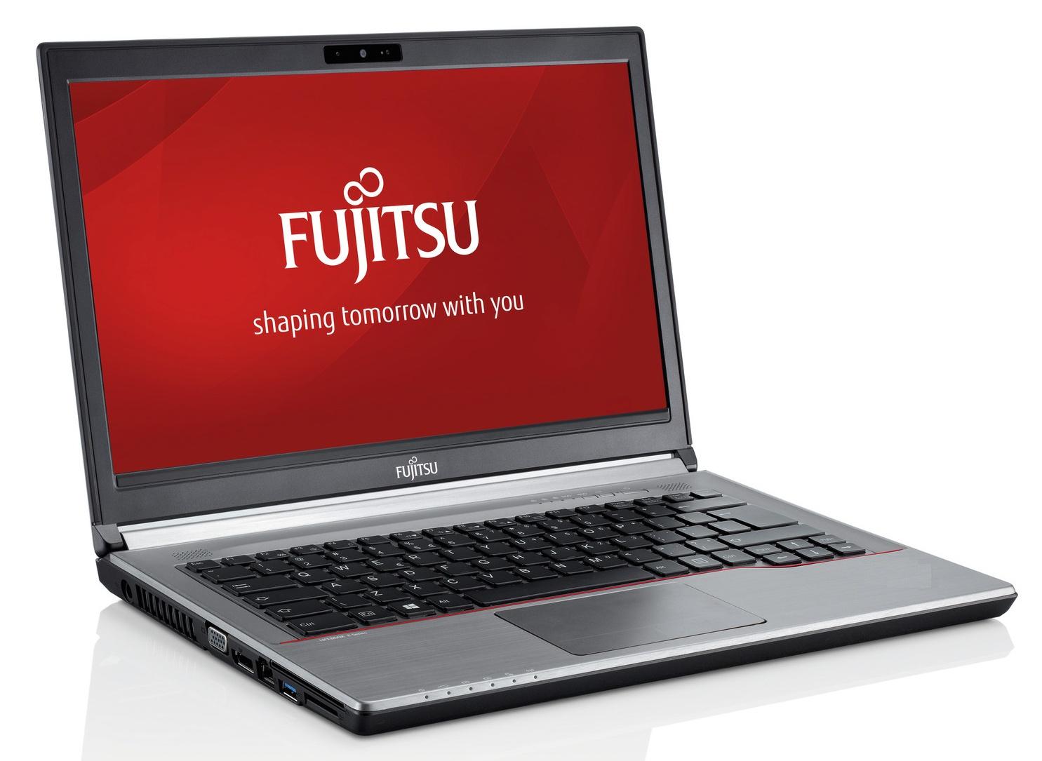 Fujitsu Lifebook E754 kovový
