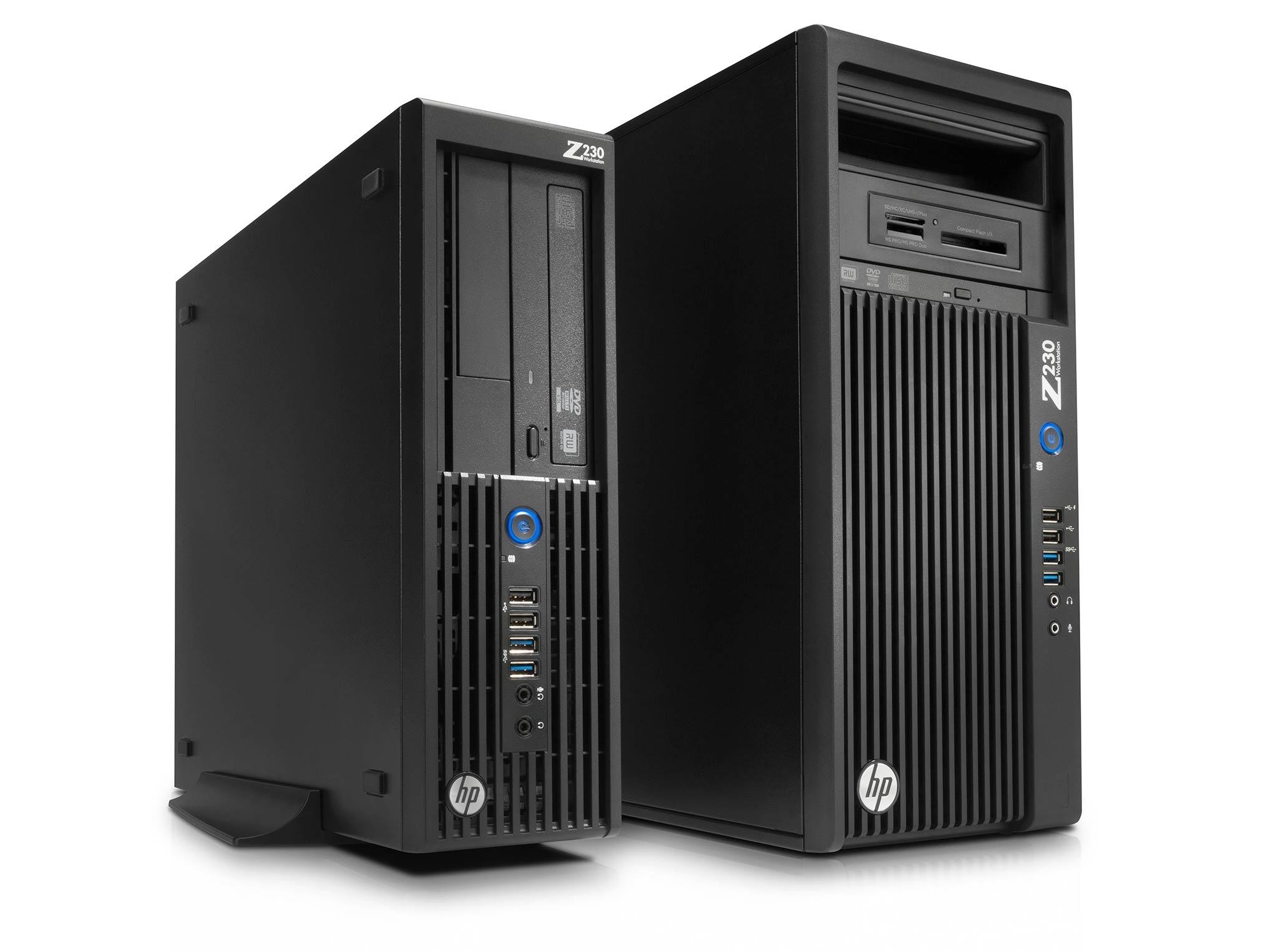 HP Z230 MT i7 quadro K2000 WIN 10