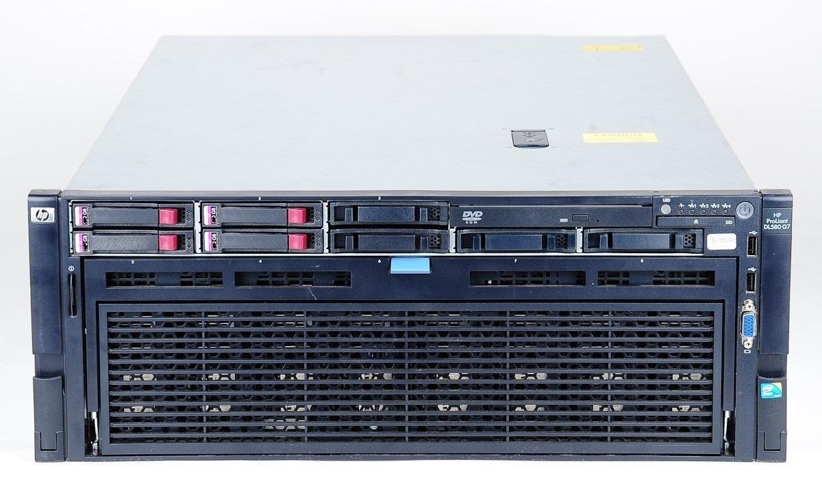 HP ProLiant DL580 Gen7 server 4 x xeon