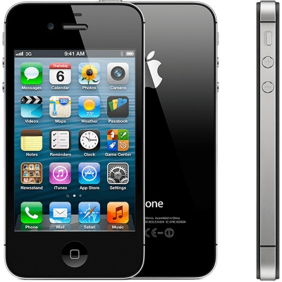 Apple iPhone 4S 8GB Black doprodej