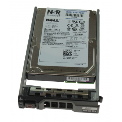 "DELL  146 GB SAS 2,5"" HDD"
