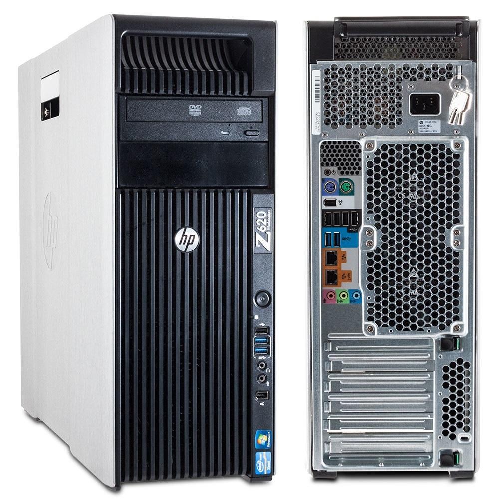 HP Z620 2x XEON OCTA CORE quadro 4000