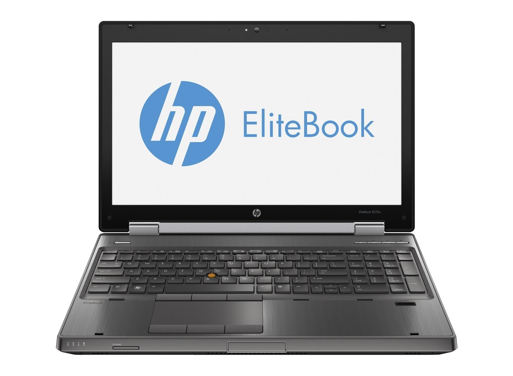 HP Elitebook 8570w SSD WIN10