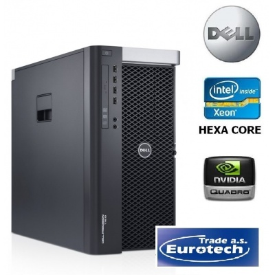 Dell Precision T7610 2x SIX CORE quadro K2000